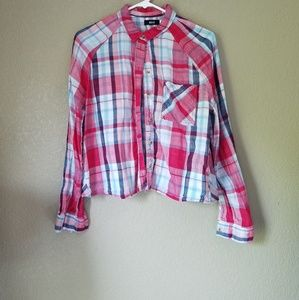 Urban Outfitters | BDG | Cropped Flannel Shirt